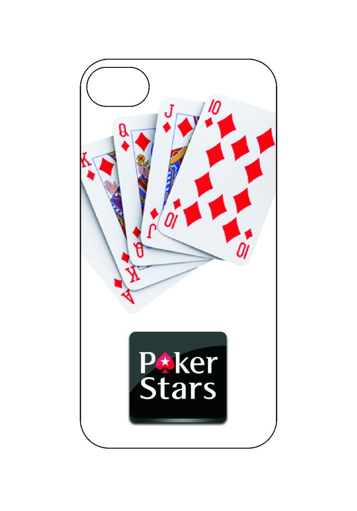 Выбери готовый дизайн для своей модели телефона: Покер в NeoPlastic