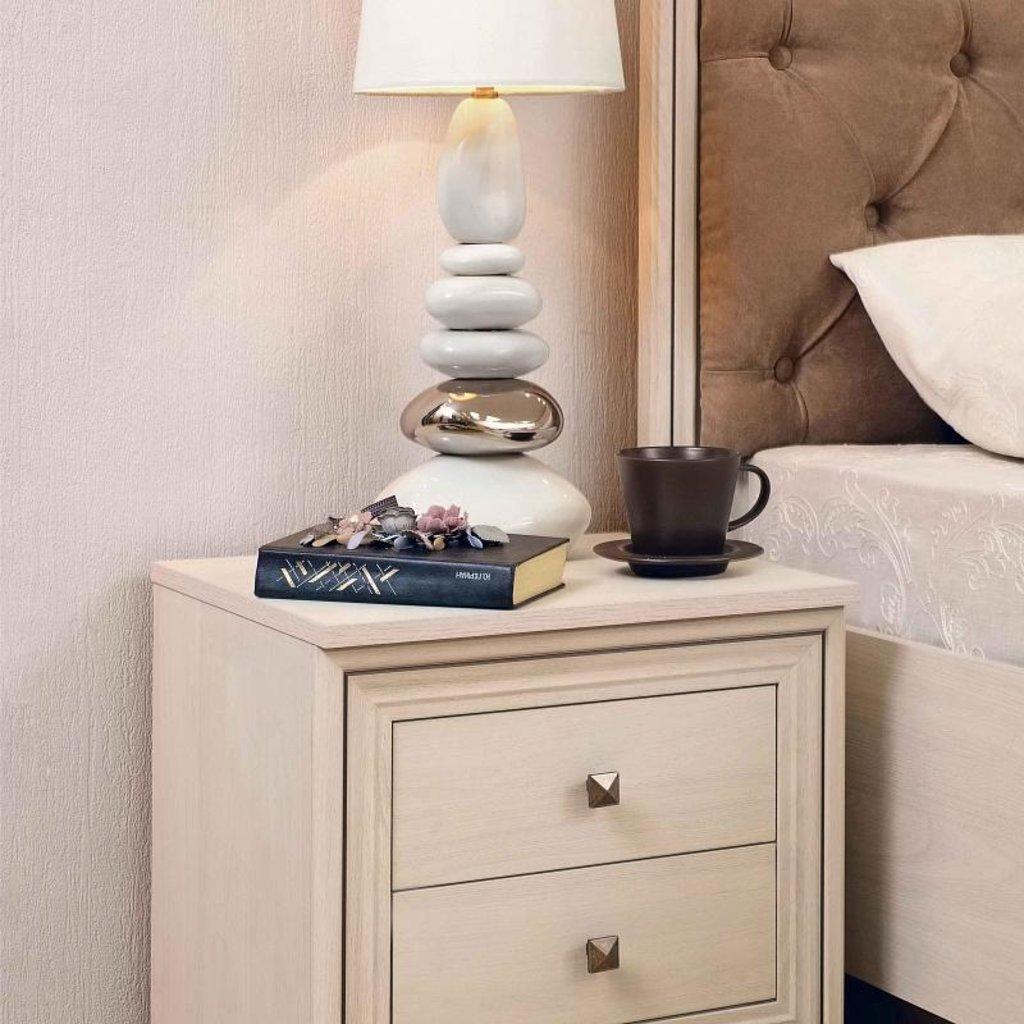 Прикроватные тумбочки: Тумба прикроватная PAOLA 41 патина в Стильная мебель