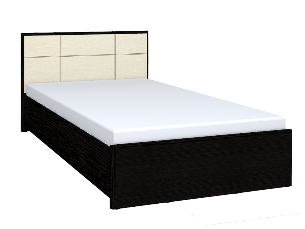 Кровати: Кровать Люкс АМЕЛИ 301 (1400, орт. осн. дерево) в Стильная мебель