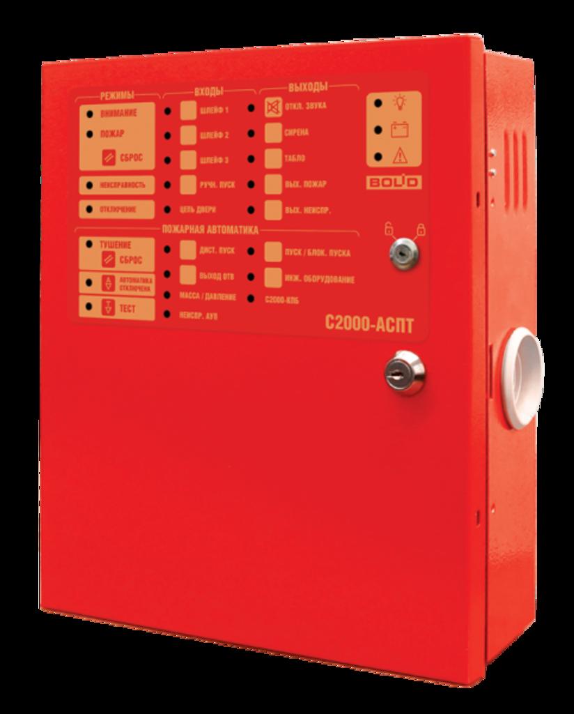 Пожарная сигнализация: С 2000-АСПТ в Русичи