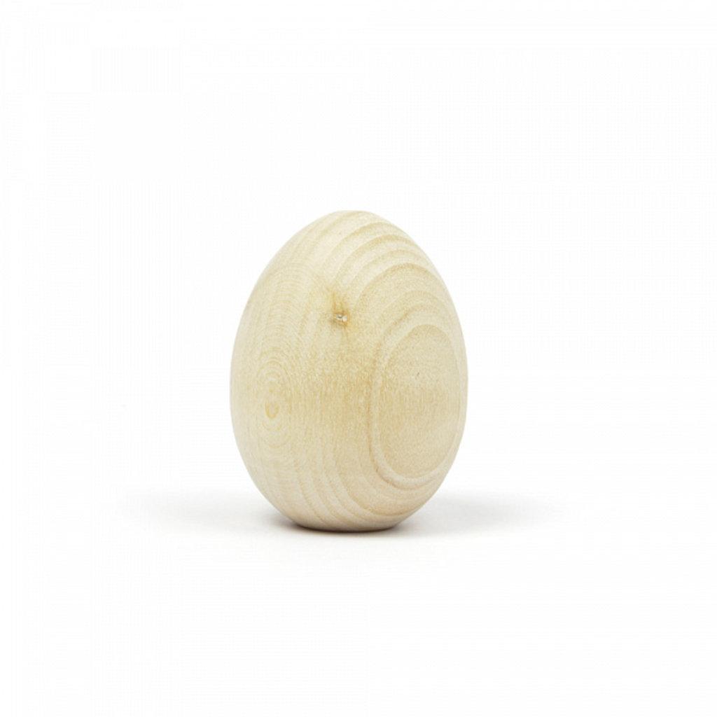 """Дерево,МДФ: Заготовка деревянная """"Яйцо """" h45мм d35мм липа 1шт в Шедевр, художественный салон"""