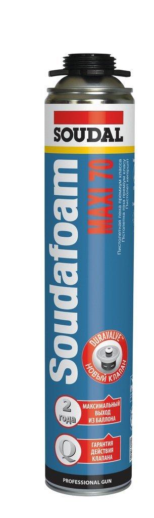 Монтажная пена: Пена монтажная профессиональная Soudal 65 л. Профиль 820 мл Зима в АНЧАР,  строительные материалы