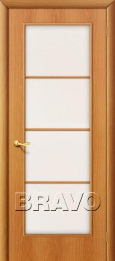 Двери ламинированные BRAVO: 10С Л-12 (МиланОрех) в STEKLOMASTER