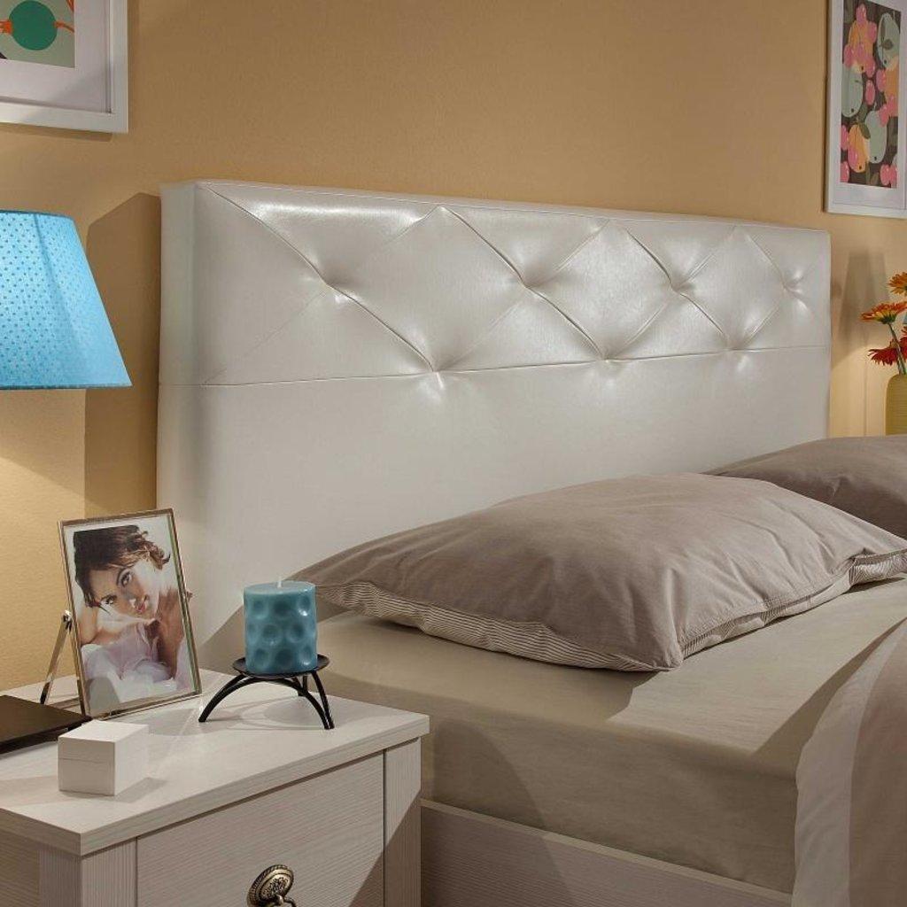 Кровати: Кровать Люкс Бриз 37 (1600, орт. осн. металл) в Стильная мебель