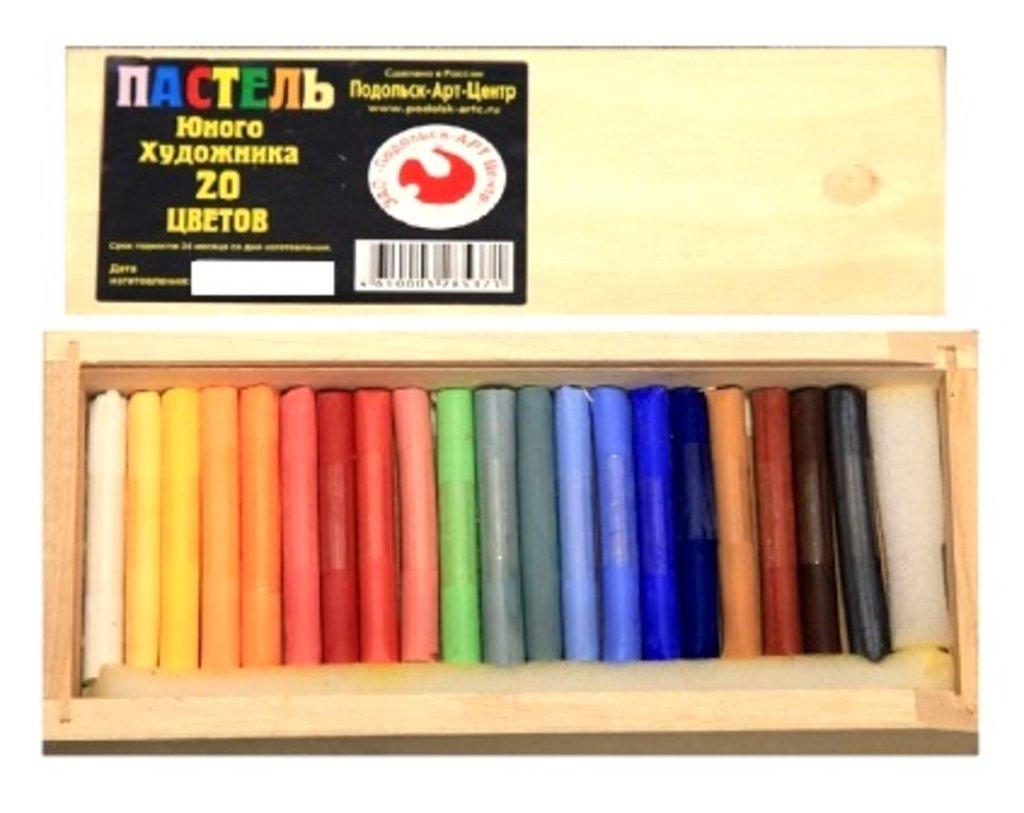 Пастель: Пастель для юного художника в деревянном пенале 20 цветов в Шедевр, художественный салон