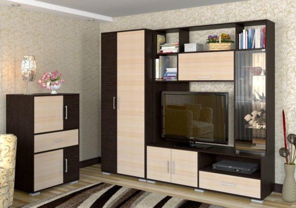 Стенки для гостиных: Домино 7 в Мебель ХИТ
