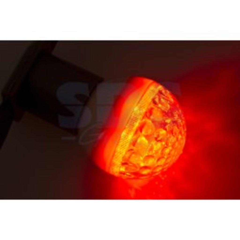 Цветные лампы: Лампа шар DIA 50 9 LED е27 КРАСНАЯ NEON-NIGHT в СВЕТОВОД