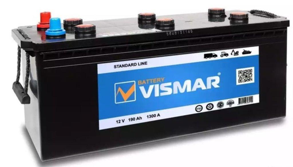 Vismar: VISMAR 6СТ-190 в БазаАКБ
