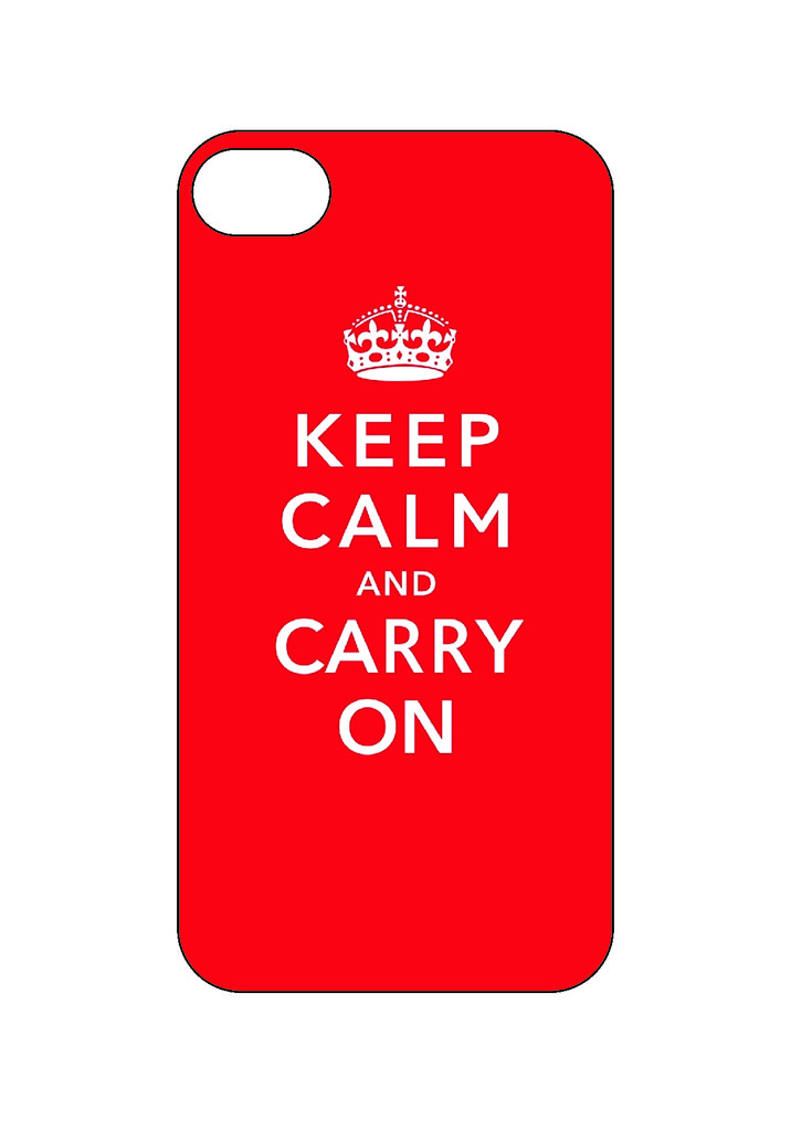 Выбери готовый дизайн для своей модели телефона: Keepcalm в NeoPlastic