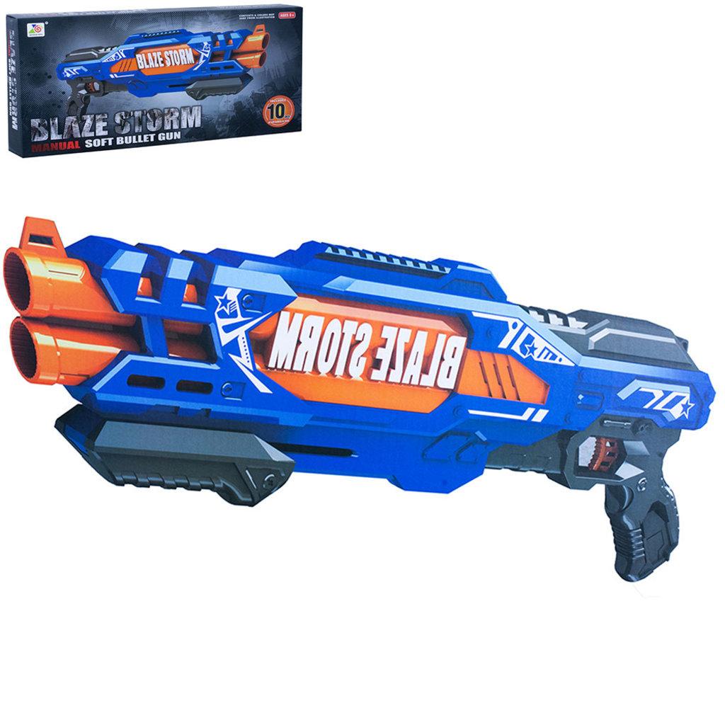 Игрушки для мальчиков: Бластер с патронами ZC7111 в коробке в Игрушки Сити