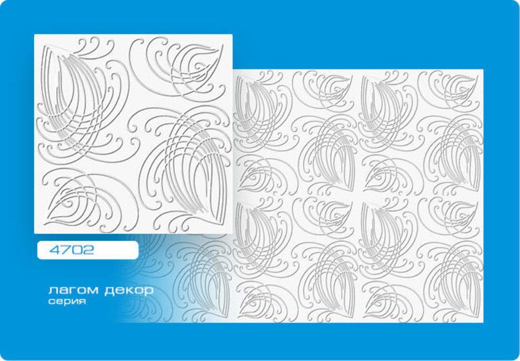 Потолочная плитка: Плитка ЛАГОМ ДЕКОР экструзионная 4702 в Мир Потолков