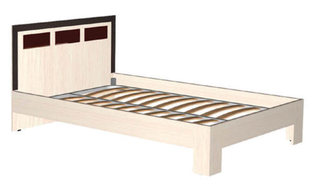 Мебель для спальни  Венеция. Модульная серия.: Кровать 2-х спальная 1200 Венеция в Уютный дом