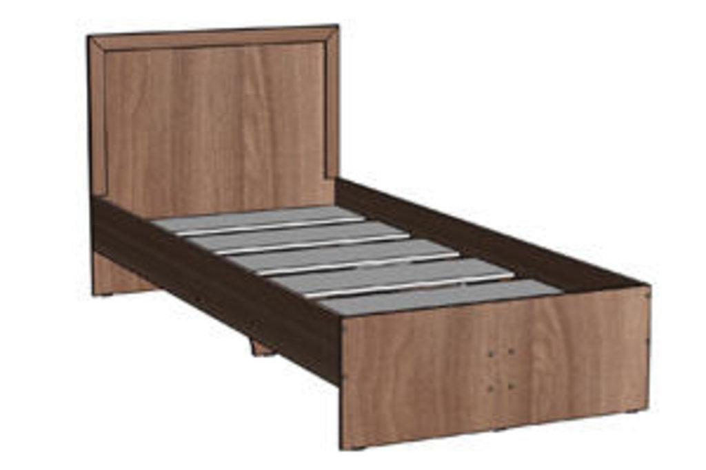 Мебель для спальни Соната. Модульная серия.: Кровать односпальная 900х2000 Соната в Уютный дом