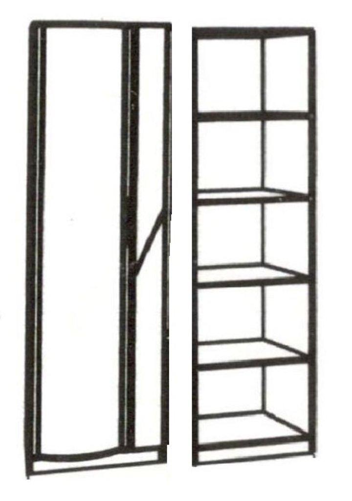 Шкафы для одежды и белья: Шкаф бельевой с фотопечатью Кристина в Стильная мебель