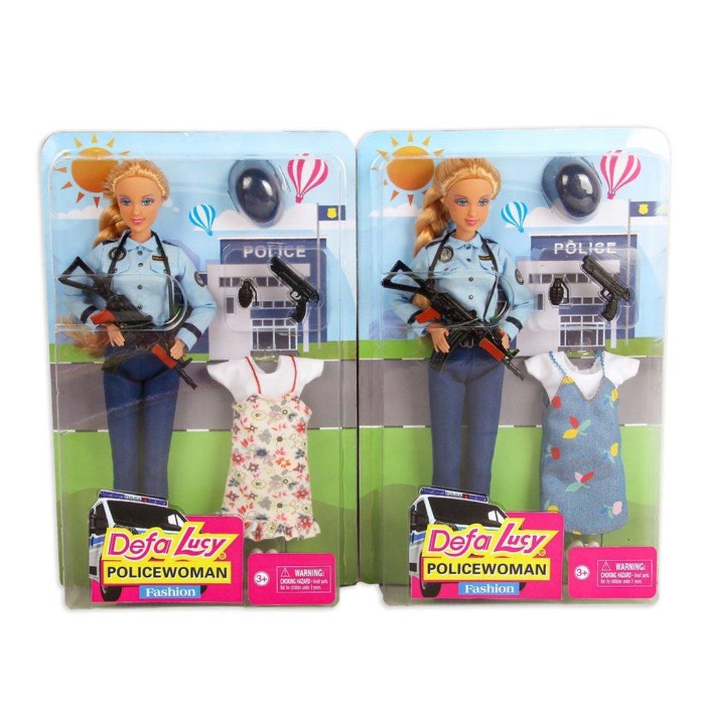 """Игрушки для девочек: Кукла """"Полицейский""""Defa"""" с аксессуарами в Игрушки Сити"""