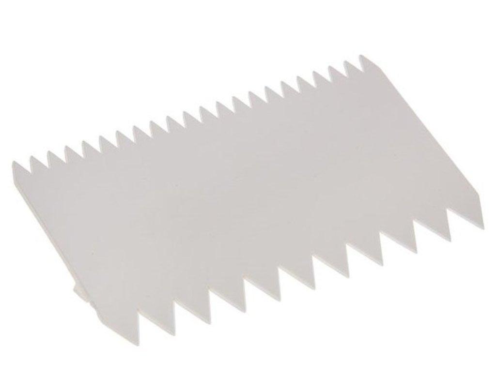 Кондитерский инвентарь: Шпатель кондитерский зубчатый в ТортExpress