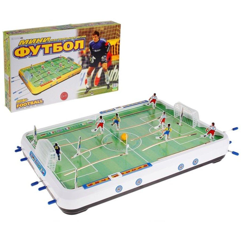 Настольные и спортивные игры: Мини-Футбол Омск игра в коробке в Игрушки Сити