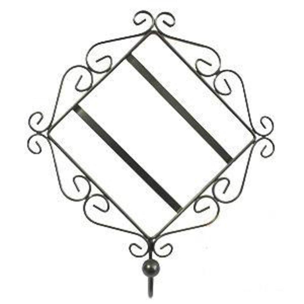 Тарелки и керамическая плитка: Рамка настенная под плитку с крючком 15х15 в NeoPlastic