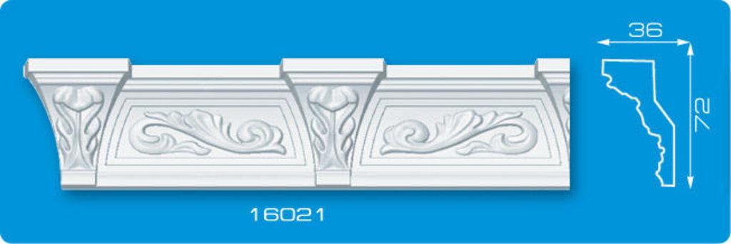Плинтуса потолочные: Плинтус потолочный ФОРМАТ 16021 инжекционный длина 1,3м, средний в Мир Потолков