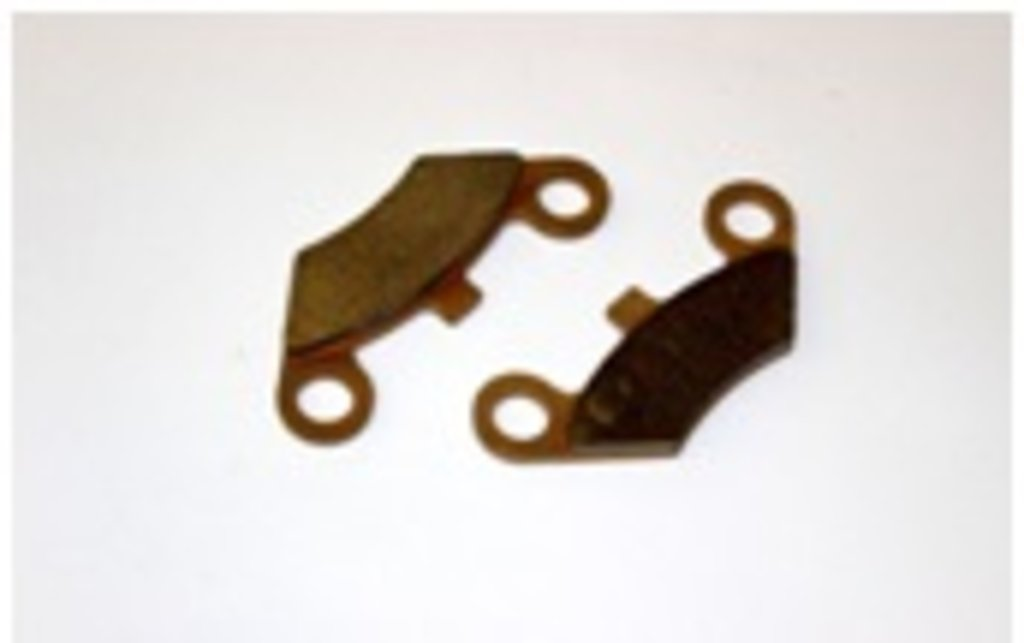 Колодки тормозные передние (2 шт.) на квадроциклы X5, X6 Cf Moto в Базис72