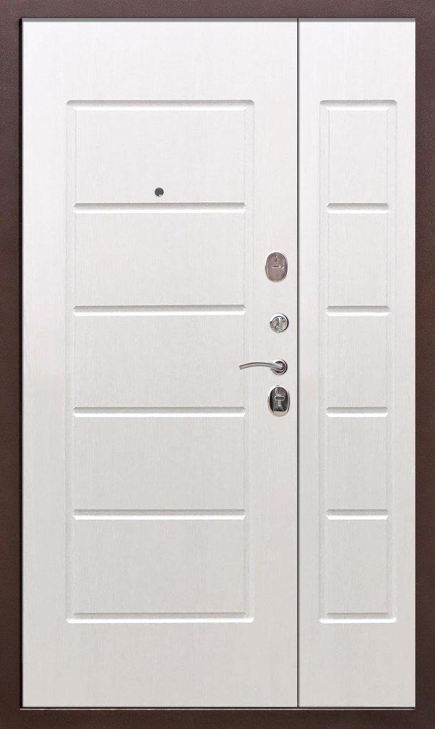 Входные двери (бюджет) от 70-80мм: Входная дверь  ГАРДА антик 1200мм в STEKLOMASTER
