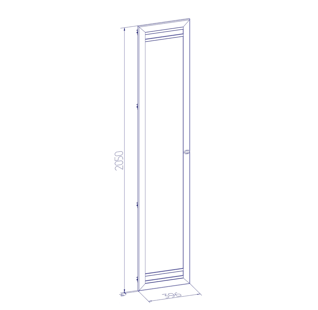 Шкафы, общие: Шкаф угловой ФАСАД Стандарт БРИЗ 10 в Стильная мебель