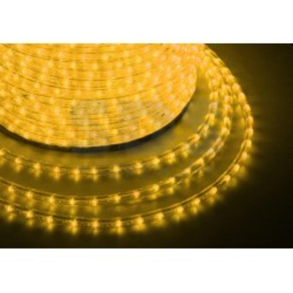 Дюралайт и комплектующие: Дюралайт LED ЖЕЛТЫЙ /2-х жильный/ (рез 1м) в СВЕТОВОД