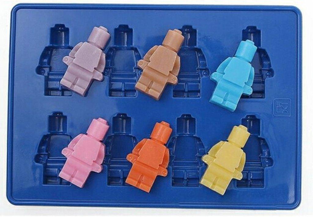 Кондитерский инвентарь: Силиконовый молд Лего в ТортExpress