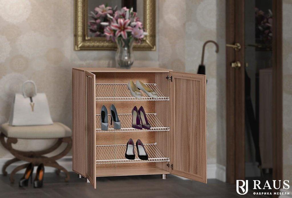 Прихожая Инесса. Доступные модули: Тумба-обувница Инесса ИН-302 в Уютный дом