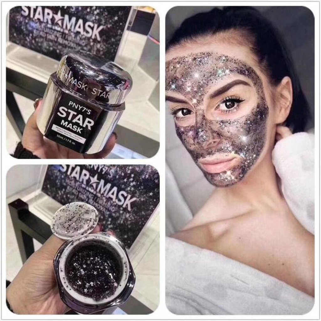 Маски: Увлажняющая и укрепляющая контуры лица гелевая маска PNY7`S Star Mask 50г в Мой флакон