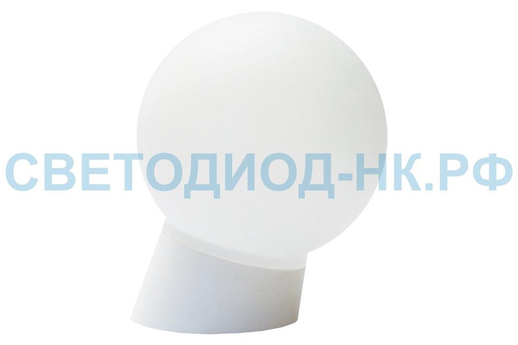 Светильники ЖКХ: Светильник НББ 64-60-025 УХЛ4 (шар пластик/наклонное основание) TDM в СВЕТОВОД