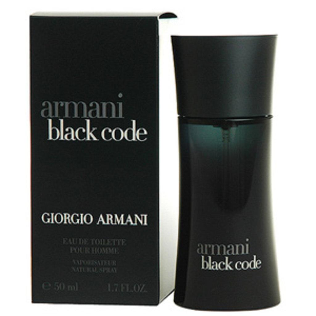Giorgio Armani (Джорджио Армани): Giorgio Armani  Armani Black Code (Джорджио Армани Армани Блэк Код) edt 100ml в Мой флакон