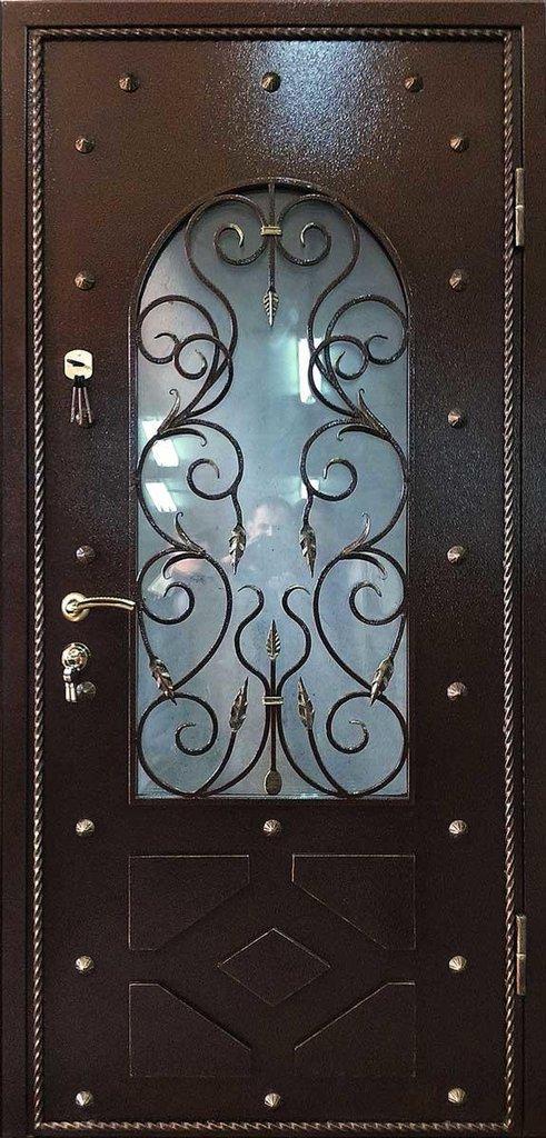Стальные двери: Металлическая дверь Люкс 4 в Мир дверей