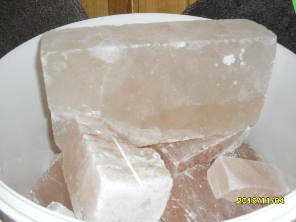 Камни для парной: Соль гималайская (развесная) в Погонаж