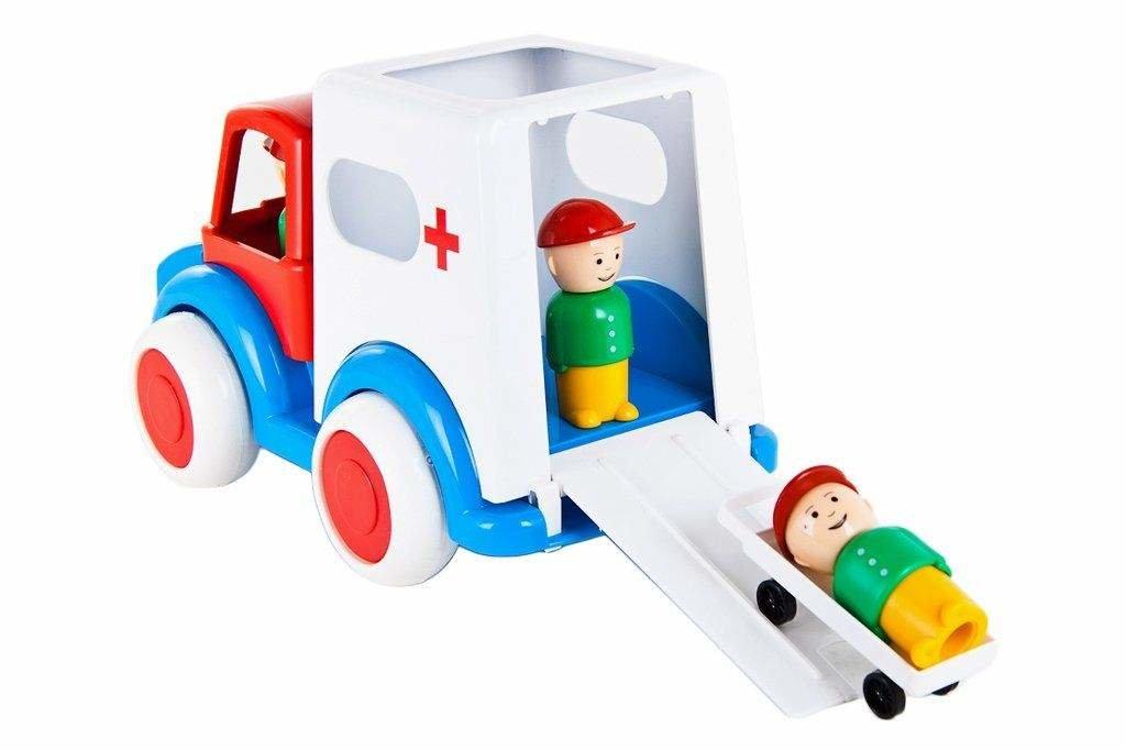 """Игрушки для мальчиков: Машина """"Скорая помощь"""" в Игрушки Сити"""