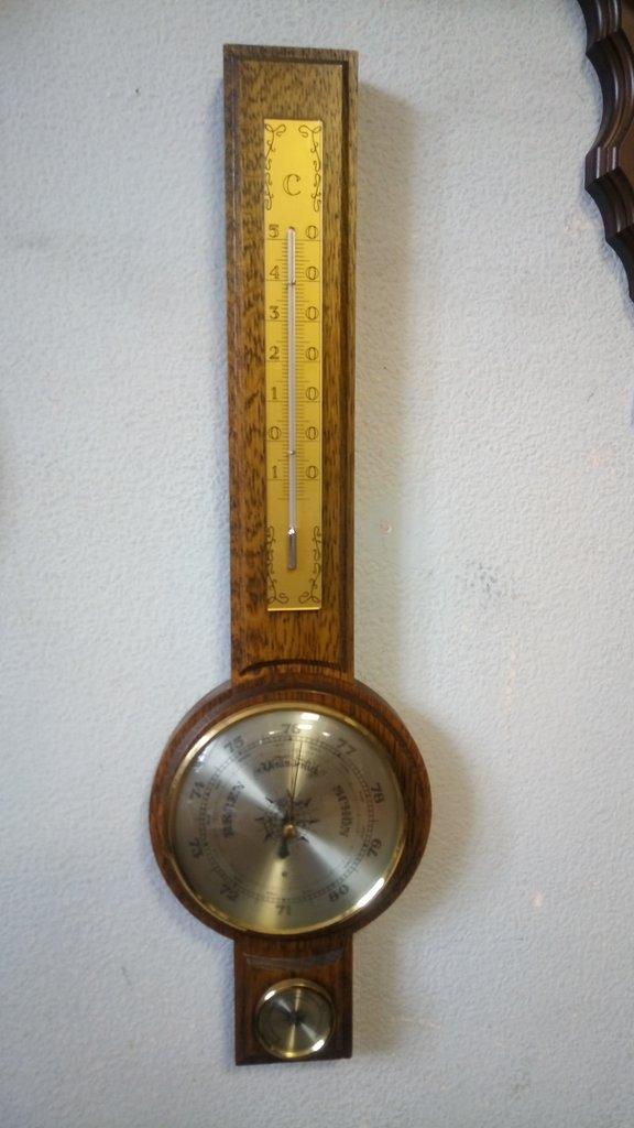 Старые вещи: Барометр с термометром в Модели кораблей
