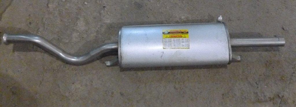 Глушители: глушитель алюмминизированный  Ваз 2108-09 в Автоцентр