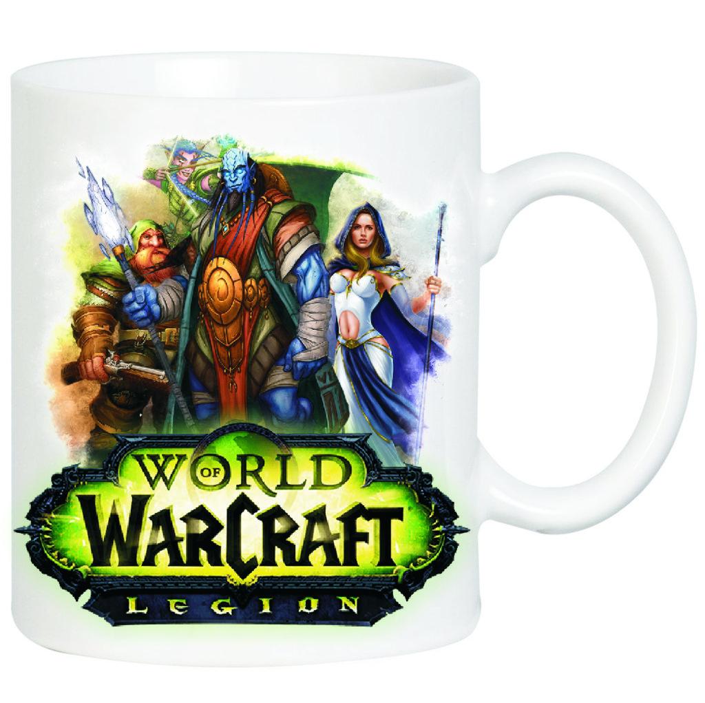 """Выбери готовый дизайн для любой кружки-заготовки: Кружка """"World of Warcraft"""" в NeoPlastic"""