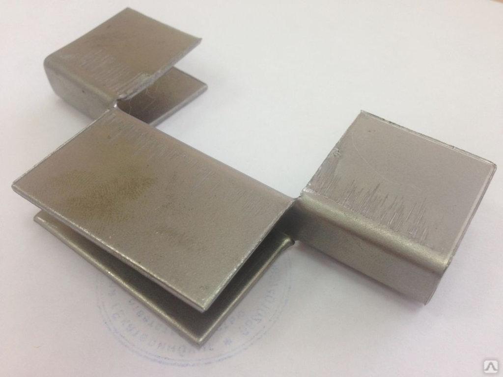 Комплектующие: Соединитель для полос металлический ( кляммер ) в БазаАКБ