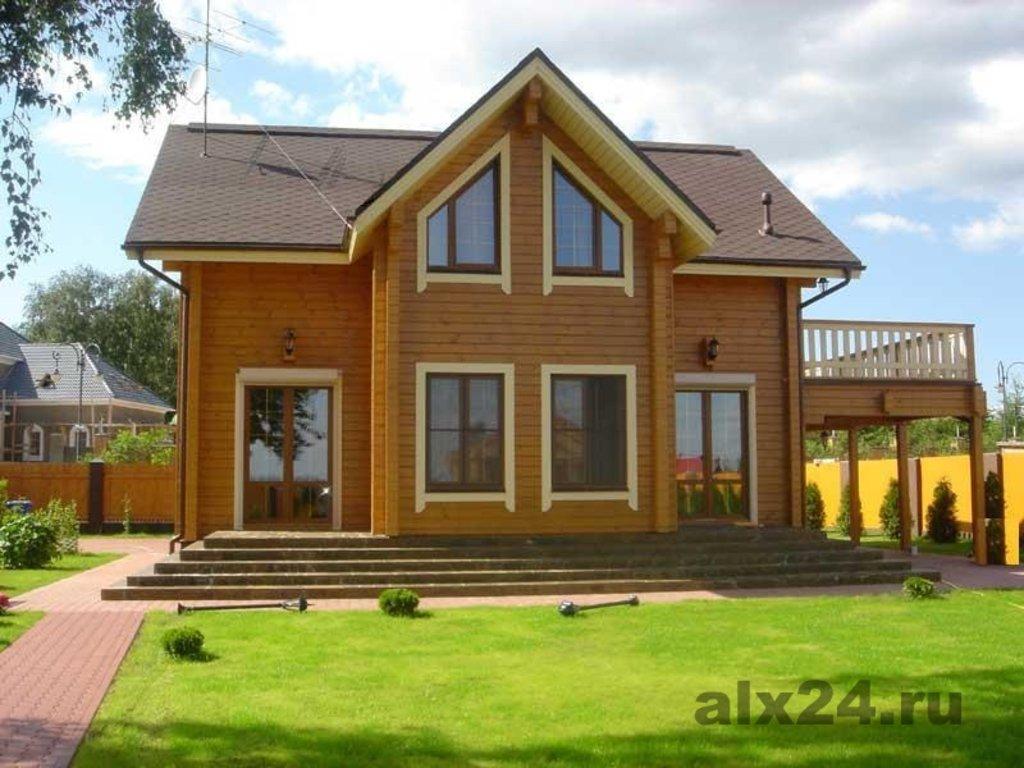Строительство: Дом из Бруса (чистовой вариант без отопления) в А-Строй