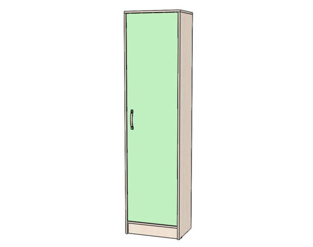 Детские шкафы и стеллажи: Шкаф пенал Буратино в Стильная мебель