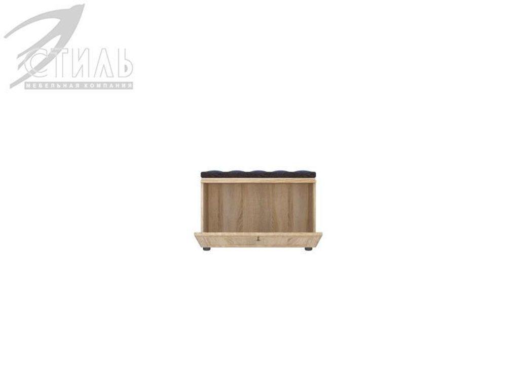 Мебель для прихожей Оскар - 7 (А) Модена: Тумба для обуви. Оскар - 7 (А) Модена в Диван Плюс