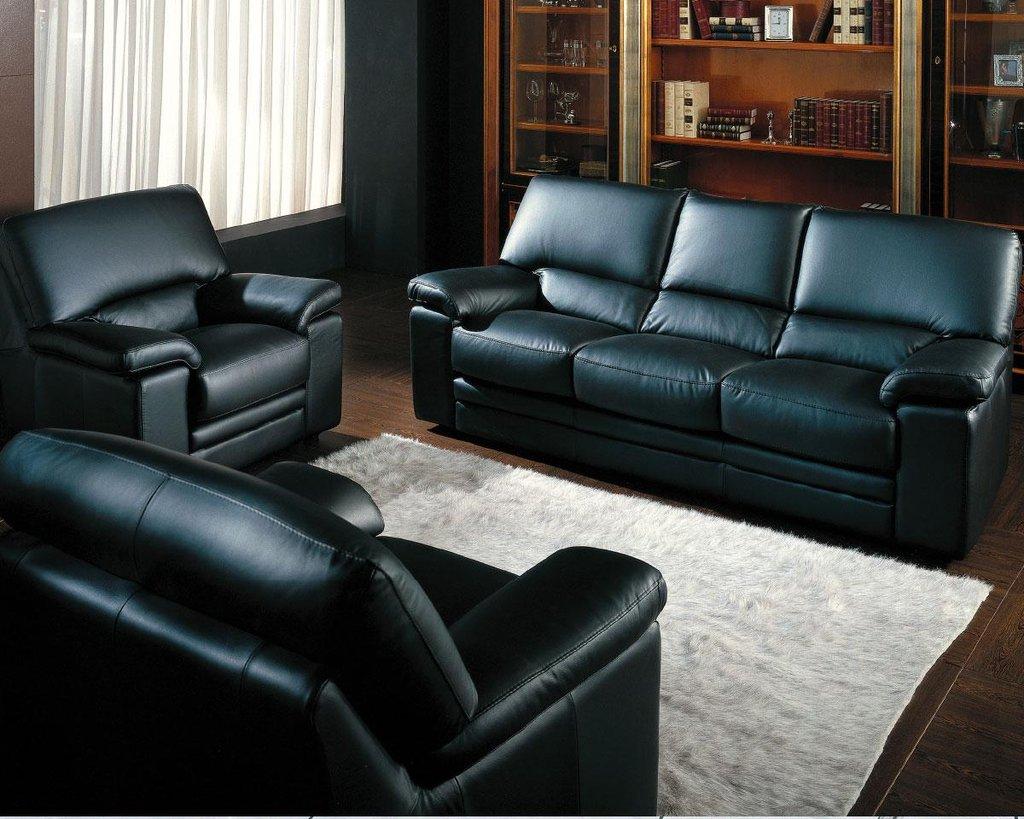 """Диваны: Офисный диван кожаный """"Элегия"""" в Амадео"""