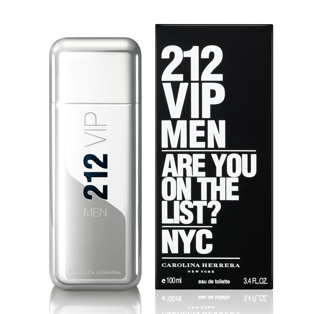 Carolina Herrera (Каролина Эррера): Carolina Herrera 212 Vip Men (Каролина Эррера 212 Вип Мен) edt 100ml в Мой флакон