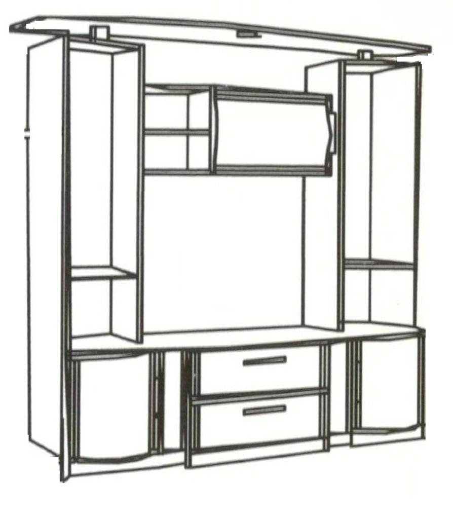 Шкафы, общие: Шкаф МЦН с фотопечатью Кристина 3 в Стильная мебель