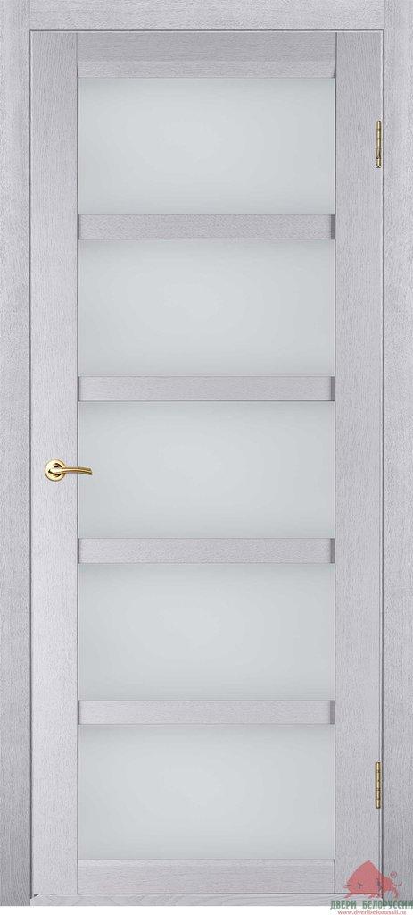 Двери Белоруссии  шпонированые: Бристоль-Э (белый дуб) в STEKLOMASTER