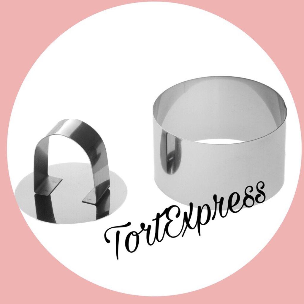 Вырубки: Форма для выкладки с прессом в ТортExpress
