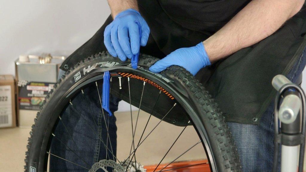 Ремонт велосипеда: Ремонт камеры велосипеда в Веломеханика