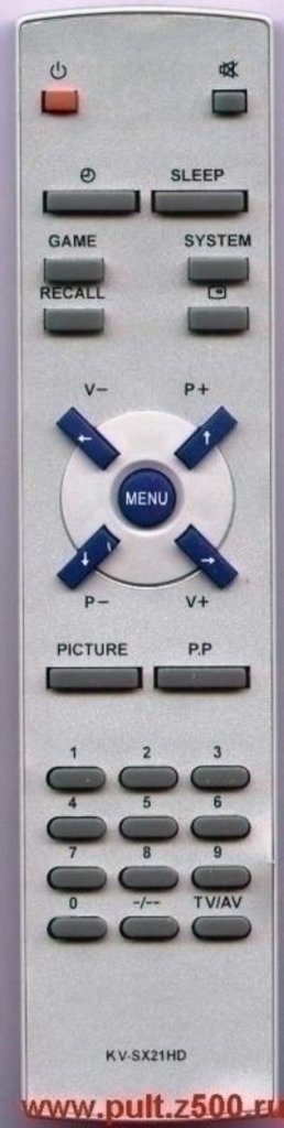SITRONICS: Пульт SITRONICS KV-SX21HD FUNAI(TV)как ориг в A-Центр Пульты ДУ