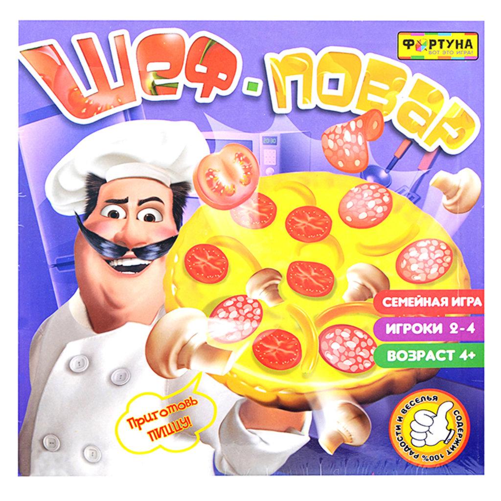 Настольные и спортивные игры: Настольная игра Шеф повар Фортуна в Игрушки Сити